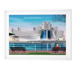 Lámina Museo Guggenheim