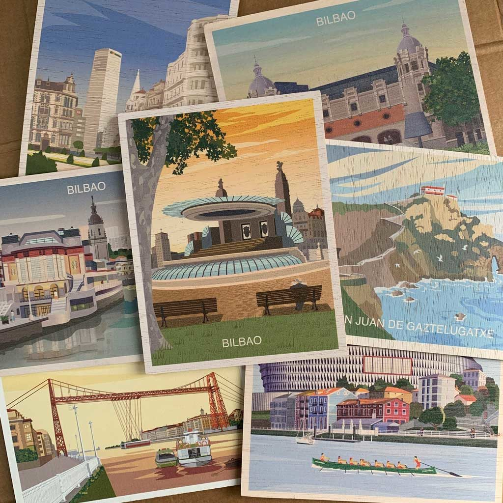 From The Basque Country With Love (postales)