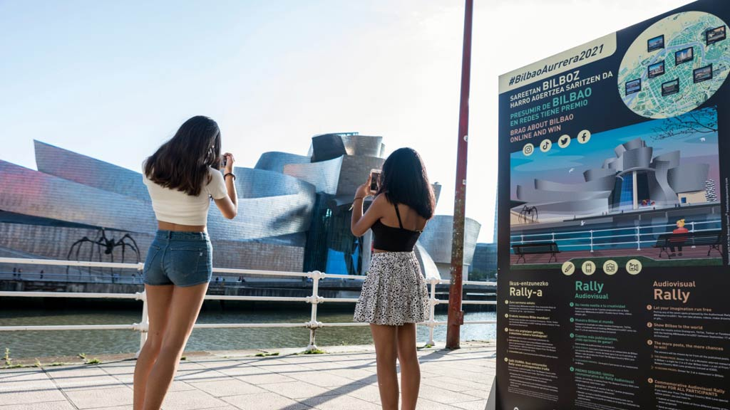 Rally #BilbaoAurrera2021 Guggenheim